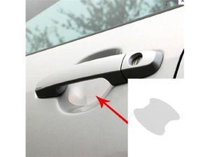 (4) Universal Clear Side Door Handles Paint Scratches Protective Film Vinyl