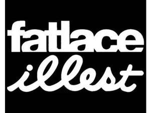 "(1) iJDMTOY Euro JDM Style ""Fatlace illest"" Combo Die-Cut Decal Vinyl Stickers"