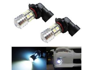 iJDMTOY CREE High Power SMD 9005 HB3 LED Daytime Running Light Bulbs, Xenon White