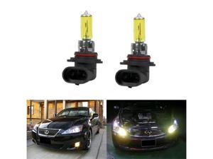 iJDMTOY 3000K Super Yellow 9006 HB4 Halogen Fog Light Bulbs