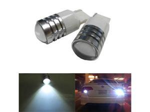 iJDMTOY Extremely Bright 7440 T20 High Power LED Backup Reverse Light Bulbs, Xenon White