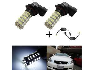 iJDMTOY Error Free 68-SMD 9005 LED Daytime Running Light Kit For Lexus IS GS ES LS RX SC GX and LX