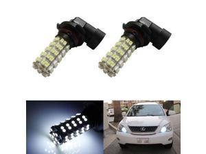 Xenon White 68-SMD 9005 9145 H10 HB3 LED Bulbs For Daytime Running Lights or Fog Lights