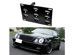 Front Bumper Tow Hole Adapter License Plate Mounting Bracket For W203 W210 W211 W219 W220 C208 C E S CLS CLK Class