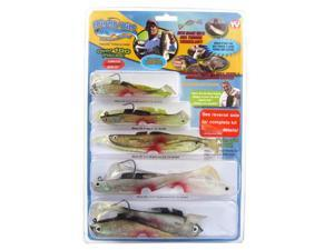 MIGHTY BITE 5-Sense Fishing Lure System - For Fresh or Saltwater - Over 100 pieces - AS SEEN ON TV
