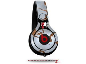 Rusted Metal Decal Style Skin (fits genuine Beats Mixr Headphones - HEADPHONES NOT INCLUDED)