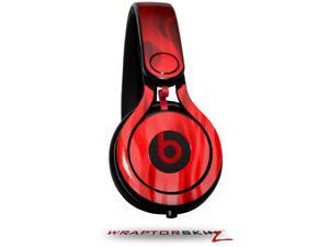 Fire Red Decal Style Skin (fits genuine Beats Mixr Headphones - HEADPHONES NOT INCLUDED)