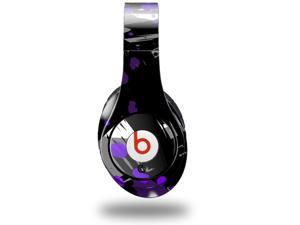 Abstract 02 Purple Decal Style Skin (fits genuine Beats Studio Headphones - HEADPHONES NOT INCLUDED)