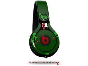 Christmas Holly Leaves on Green Decal Style Skin (fits genuine Beats Mixr Headphones - HEADPHONES NOT INCLUDED)