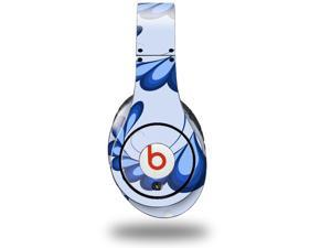Petals Blue Decal Style Skin (fits genuine Beats Studio Headphones - HEADPHONES NOT INCLUDED)