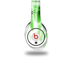 Lightning Green Decal Style Skin (fits genuine Beats Studio Headphones - HEADPHONES NOT INCLUDED)