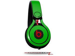 Solids Collection Green Decal Style Skin (fits genuine Beats Mixr Headphones - HEADPHONES NOT INCLUDED)