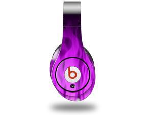 Fire Purple Decal Style Skin (fits genuine Beats Studio Headphones - HEADPHONES NOT INCLUDED)