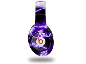 Electrify Purple Decal Style Skin (fits genuine Beats Studio Headphones - HEADPHONES NOT INCLUDED)