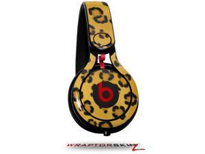 Leopard Skin Decal Style Skin (fits genuine Beats Mixr Headphones - HEADPHONES NOT INCLUDED)