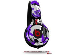 Sexy Camo Purple Decal Style Skin (fits genuine Beats Mixr Headphones - HEADPHONES NOT INCLUDED)
