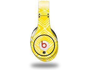 Wavey Yellow Decal Style Skin (fits genuine Beats Studio Headphones - HEADPHONES NOT INCLUDED)