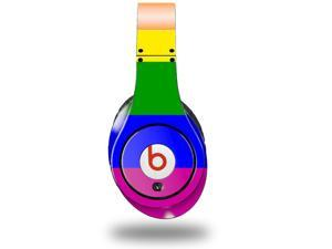 Rainbow Stripes Decal Style Skin (fits genuine Beats Studio Headphones - HEADPHONES NOT INCLUDED)