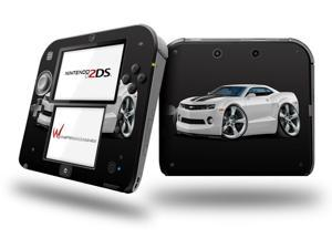 2010 Camaro RS White - Decal Style Vinyl Skin fits Nintendo 2DS