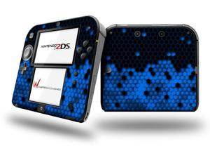 HEX Blue - Decal Style Vinyl Skin fits Nintendo 2DS