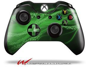 Mystic Vortex Green - Decal Style Skin fits Microsoft XBOX One Wireless Controller - CONTROLLER NOT INCLUDED