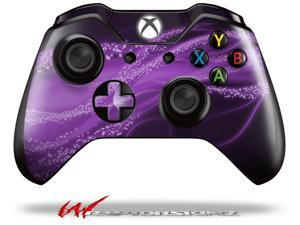 Mystic Vortex Purple - Decal Style Skin fits Microsoft XBOX One Wireless Controller - CONTROLLER NOT INCLUDED