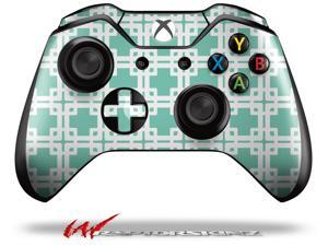 Boxed Seafoam Green - Decal Style Skin fits Microsoft XBOX One Wireless Controller - CONTROLLER NOT INCLUDED
