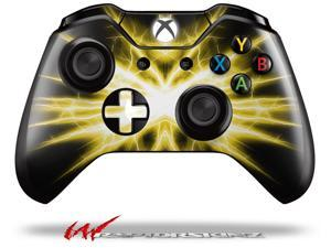 Lightning Yellow - Decal Style Skin fits Microsoft XBOX One Wireless Controller - CONTROLLER NOT INCLUDED