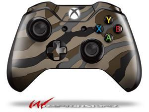 Camouflage Brown - Decal Style Skin fits Microsoft XBOX One Wireless Controller - CONTROLLER NOT INCLUDED - OEM
