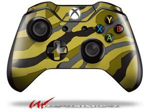 Camouflage Yellow - Decal Style Skin fits Microsoft XBOX One Wireless Controller - CONTROLLER NOT INCLUDED  - OEM