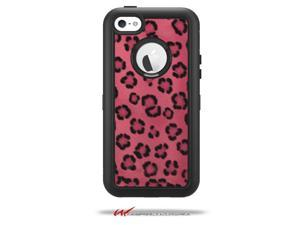 Leopard Skin Pink - Decal Style Vinyl Skin fits Otterbox Defender iPhone 5C Case - (CASE NOT INCLUDED)