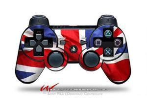 Sony PS3 Controller Decal Style Skin - Union Jack 01 (CONTROLLER SOLD SEPARATELY)