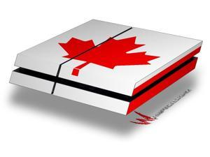 Canadian Canada Flag - Decal Style Skin fits original PS4 Gaming Console