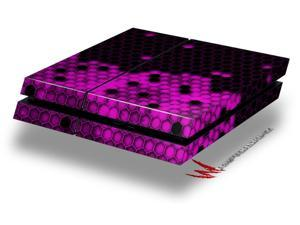 HEX Hot Pink - Decal Style Skin fits original PS4 Gaming Console