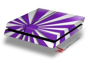 Rising Sun Japanese Flag Purple - Decal Style Skin fits original PS4 Gaming Console