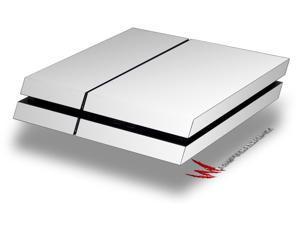 Solids Collection White - Decal Style Skin fits original PS4 Gaming Console