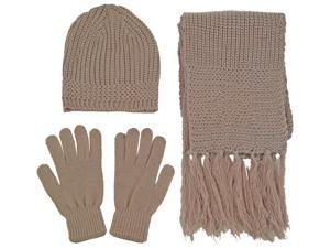 Wholesale 12 Pack Assorted Acrylic Knit Beanie Hat, Scarf Gloves Winter Set Great Christmas Gift