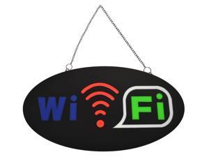 Animated Motion LED Business WIFI SIGN On/Off Switch Bright Open Light Neon