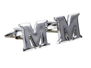 New Classic Wedding Letter Cufflinks Suit Shirt Cuff Links