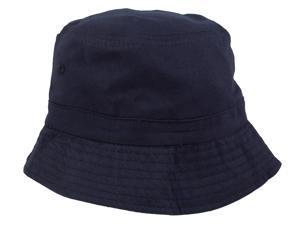 Unisex Outdoor Solid Color Bonnie Bucket Hat Fishing Cap