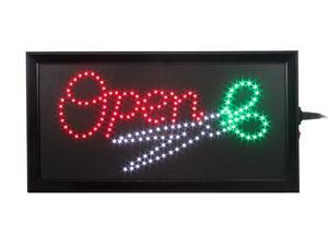 LED Bright Hair Cut Salon Open Sign Best for Barbershop