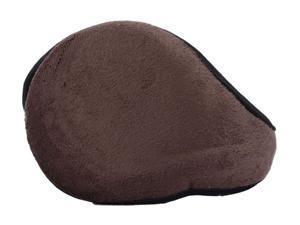 Simplicity Men's Fleece Earmuffs with a Comfortable & Flexible Soft Wrap, Coffee