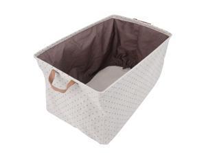 High Quality Fold Cotton Jute Storage Box For Cloths Organizer
