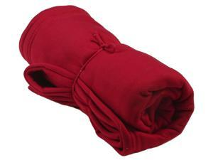 Simplicity Super Soft Cozy Warm Cotton Blankets Throws Burgundy