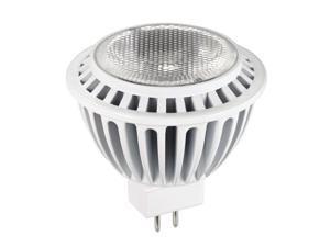 LUXRITE 7W GU5.3 2700K Narrow Flood 25 LED MR16 Light Bulb