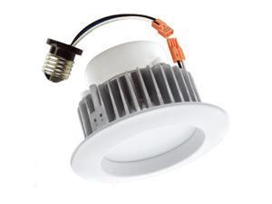 LUXRITE 9W LED 4 inch 684Lm 5000K Retrofit Recessed Downlight Light