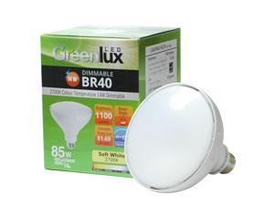 4 Pack - High Quality LED 14w Dimmable BR40 Soft White Light Bulb - 85w Equiv.