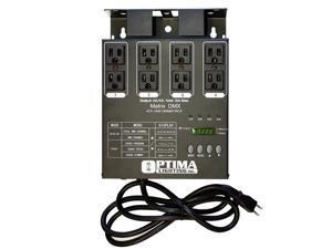 MATRIX DMX 4 Channel Relay Double Output DMX Dimmer Pack