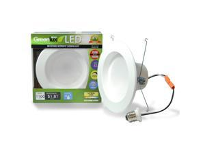 4Pk. - High Quality 5-6in LED Recessed 15W Soft White Retrofit Downlight Kit - 100w equiv.