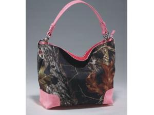 Licensed Mossy Oak Camo Camouflage Western Hobo Tote Purse Handbag
